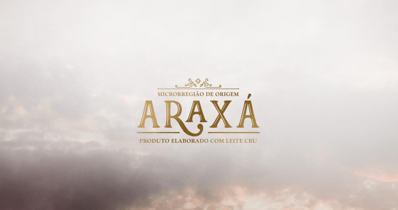 Branding e embalagem para queijos Araxa