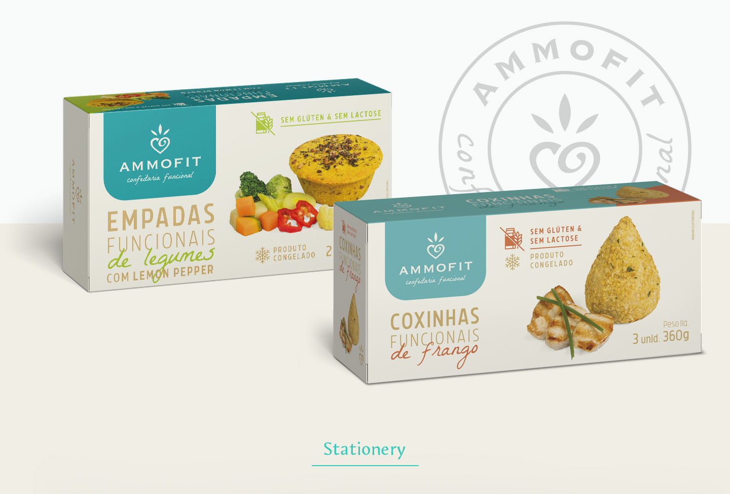 Packaging design for gourmet pies