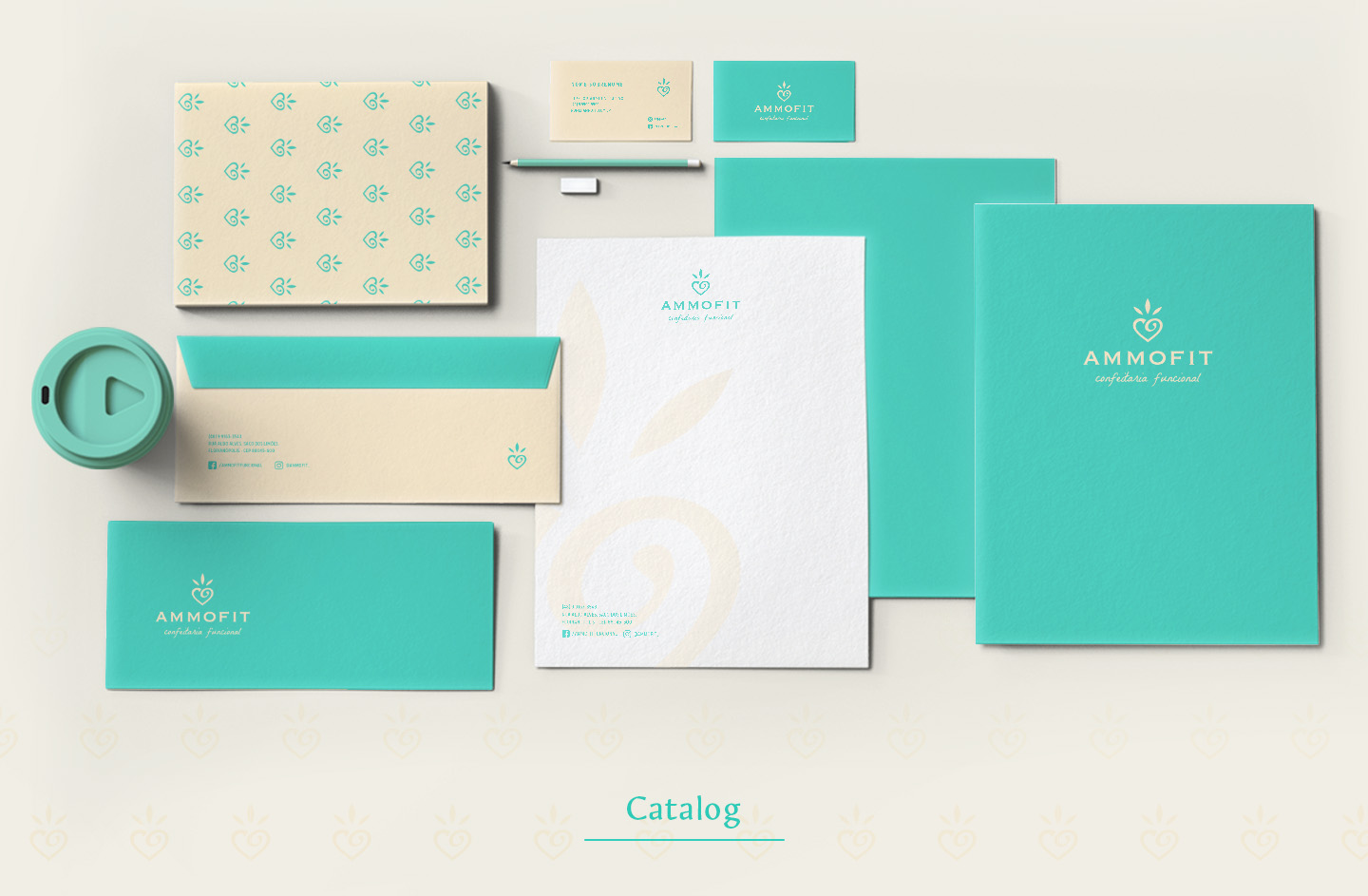 Stationery for premium pie factory