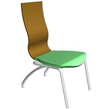 Design de cadeira Flat para TABANO & TABANO MÓVEIS