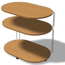 Design de móvel Rack E para TROPPO MÓVEIS
