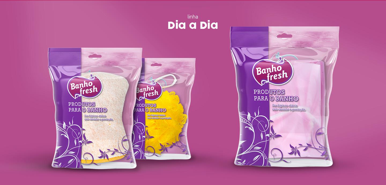 design de embalagem para esponjas