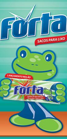 Design de Catálogo para sacos para lixo FORTA
