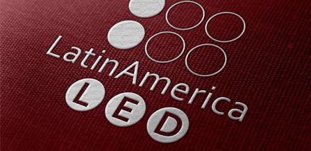 Identidade visual para LatinAmerica LED