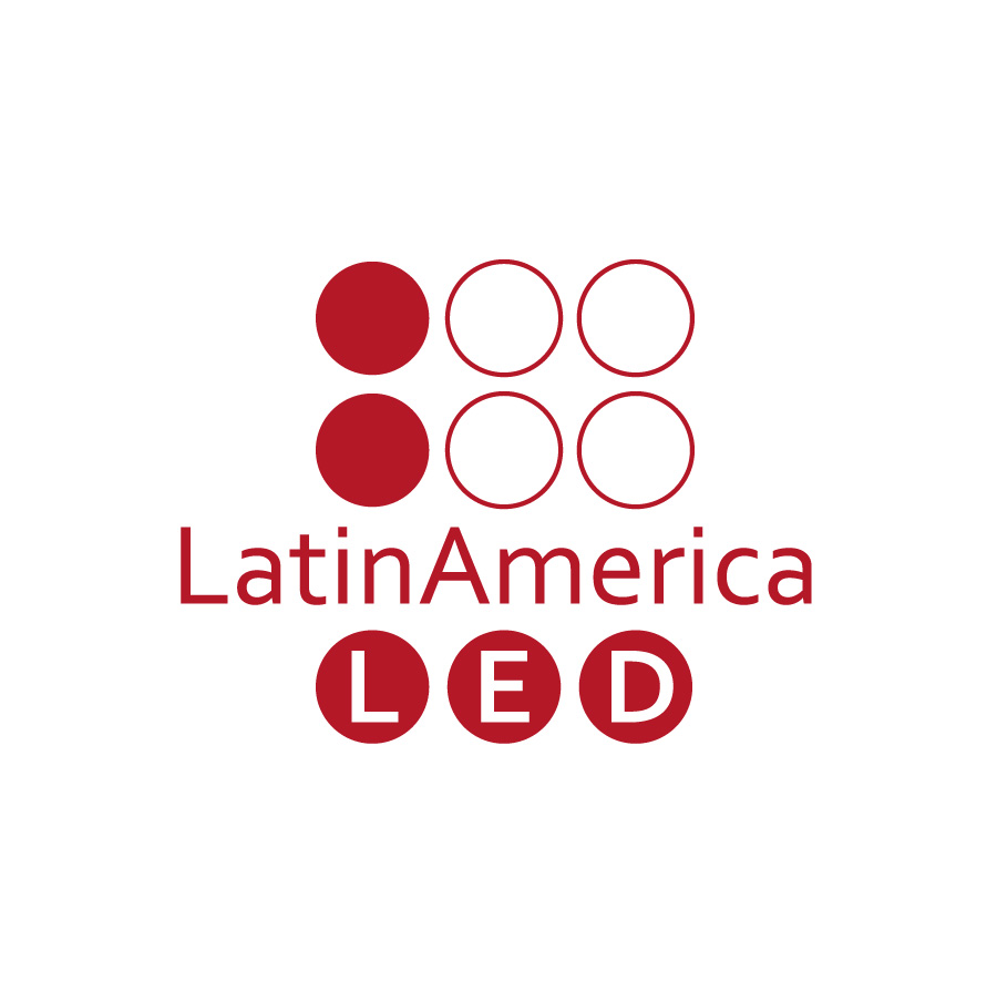 O3 Design - Logo LatinAmerica LED
