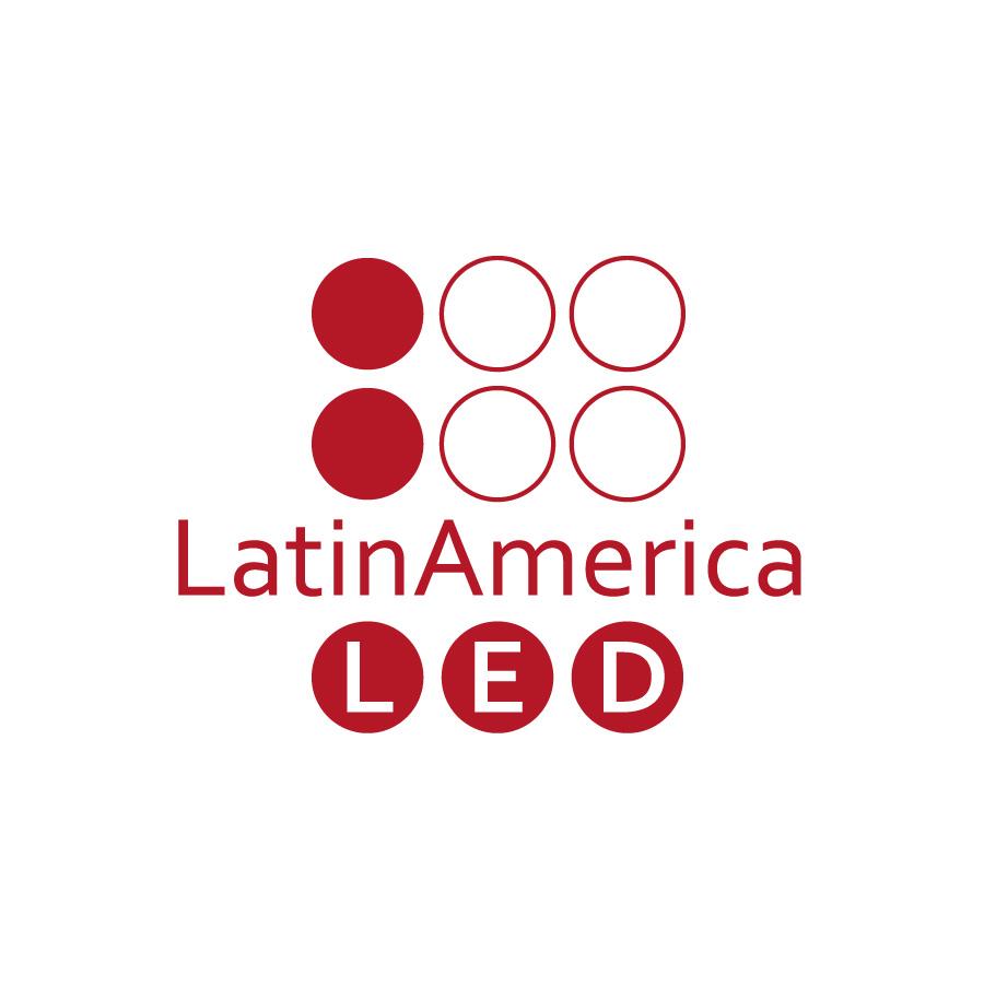 O3 Design - Logo LatinAmerica LED