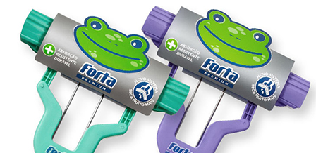 Design de embalagem para produtos de limpeza FORTA PREMIUM