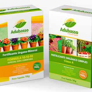Fertilizers packaging design boxes