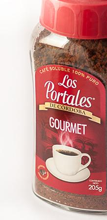 Design de frasco de café Los Portales de México