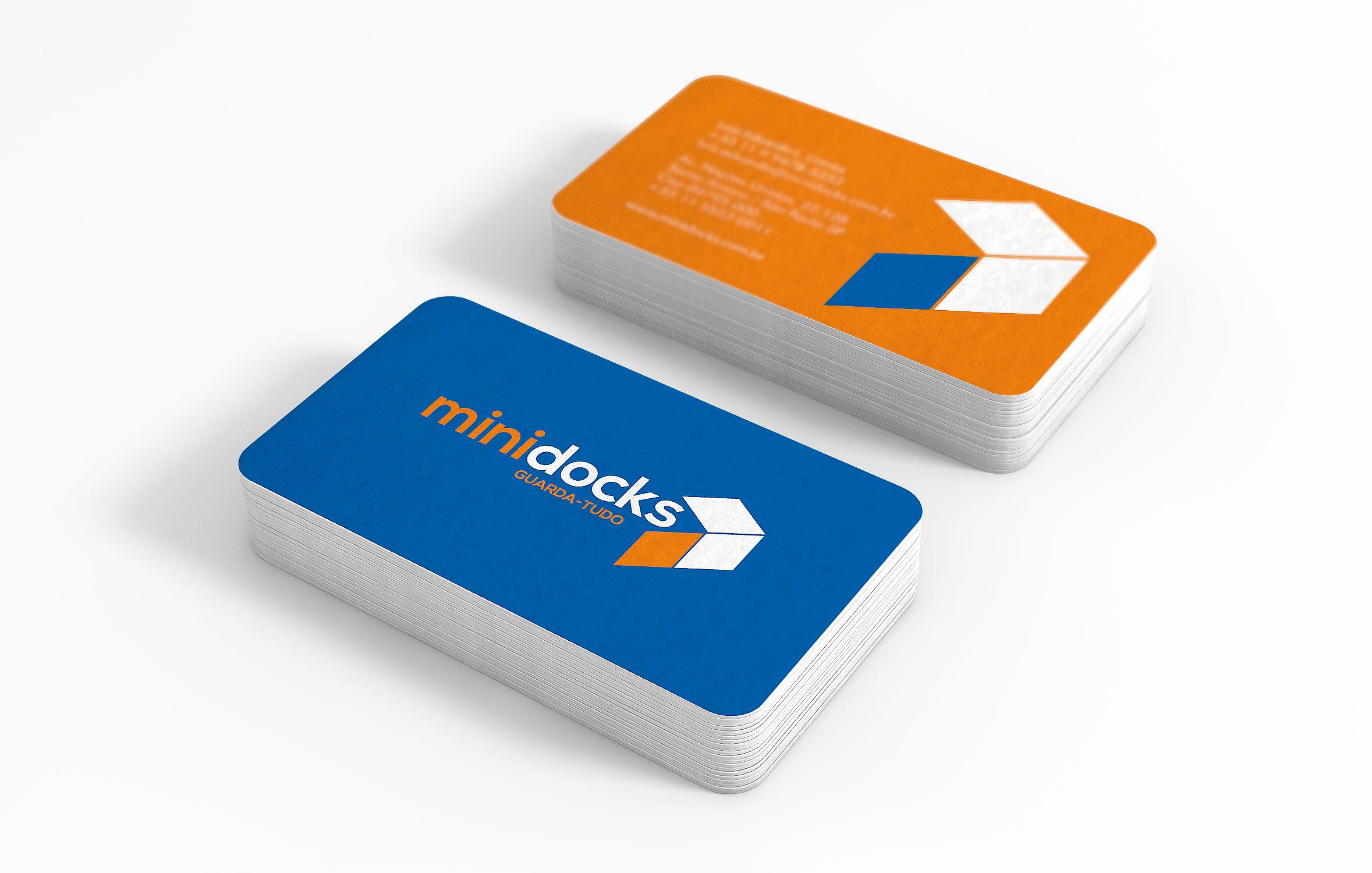 O3 Design - cartão de visitas minidocks