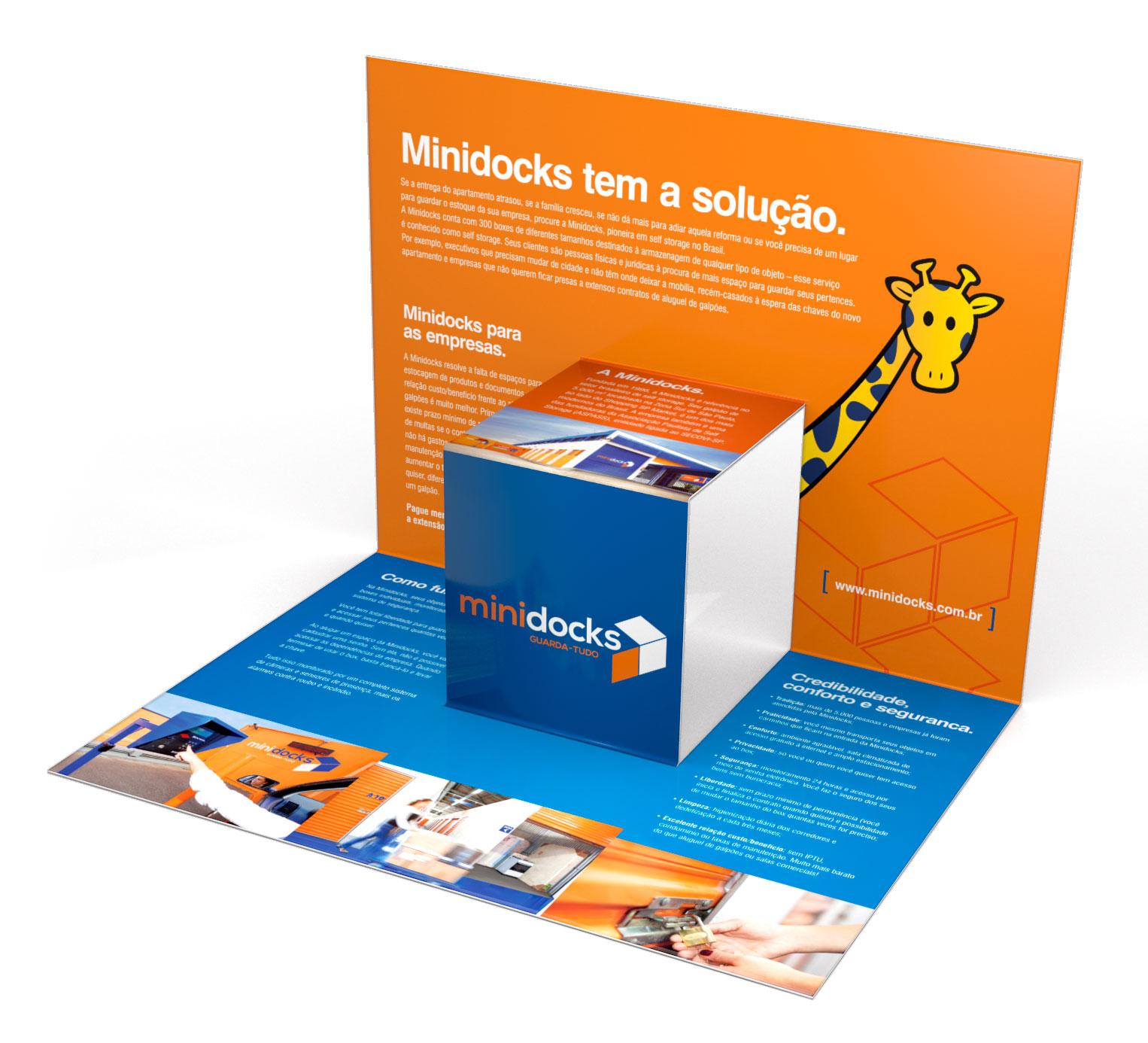 folder flyer campaign design