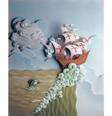 Obras do artista Carlos Meira