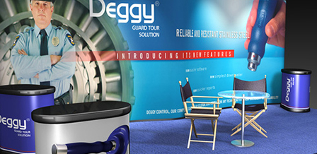 Design de produtos e comunicação visual DEGGY Sistemas de Segurança Eletrônica