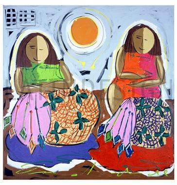 Obras do artista Elias Andrade