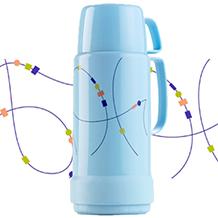Coleção de garrafas térmicas Invicta – Linhas GLT 2007 e 2008
