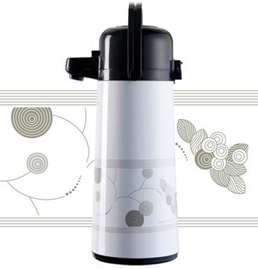 Coleção de garrafas térmicas Invicta - Linhas Top Wave e Air Pot 2008