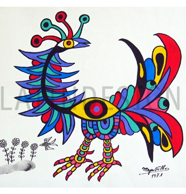 Obras do artista Meyer Filho