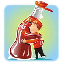 Ilustrações para Coca-Cola