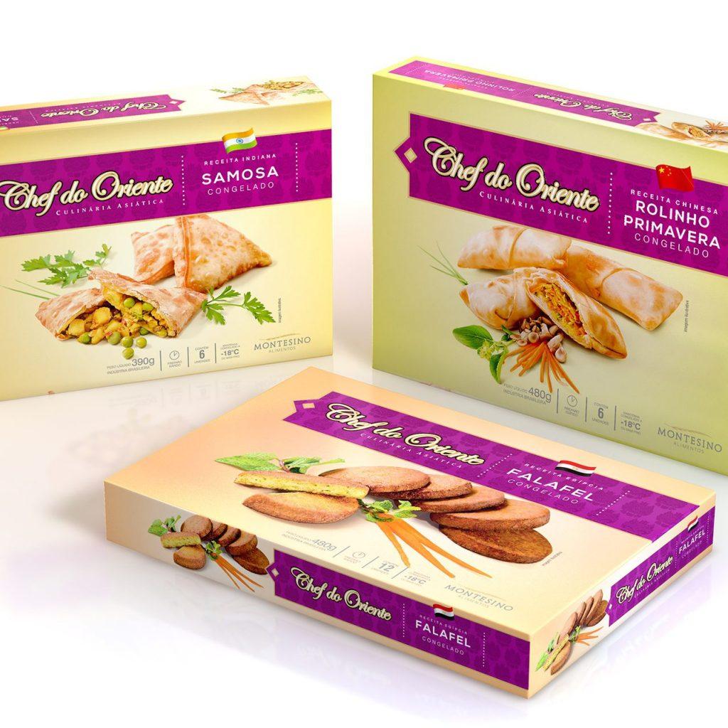 design de Embalagens para alimentos congelados