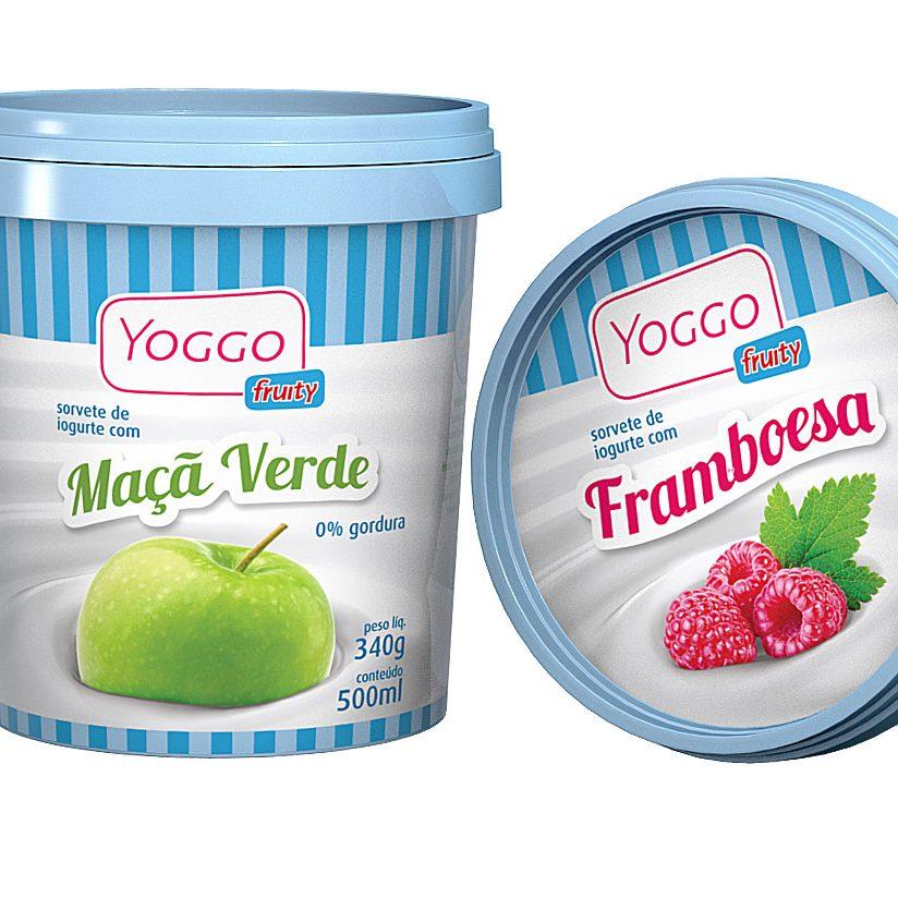 O3 Design - Embalagem Yogo Fruity