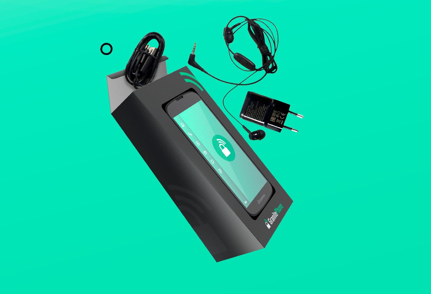 Embalagem para celular Granite