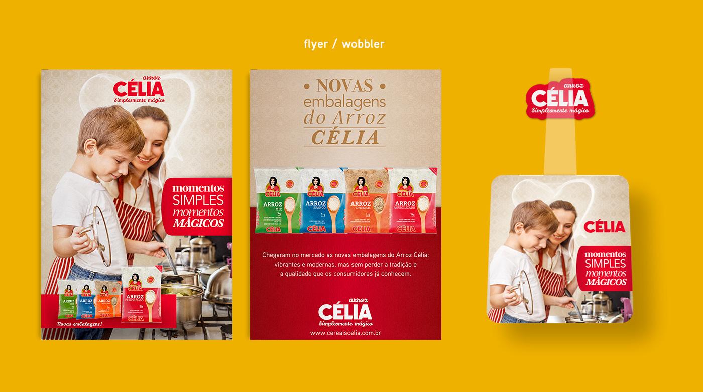 design de Catálogo de produtos e wobbler