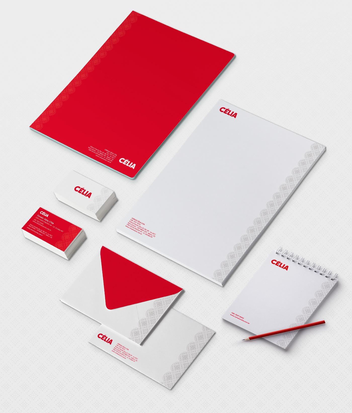 design de aplicações da marca