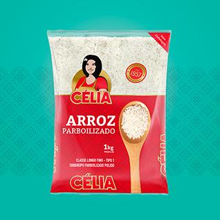 design de embalagem para arroz Celia