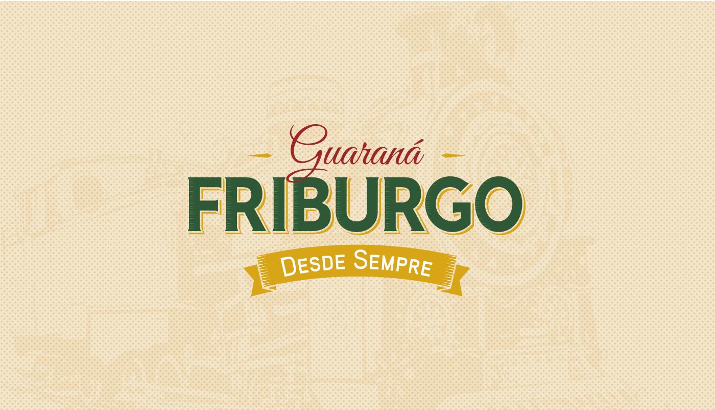 logotipo refrigerante Guaraná Friburgo