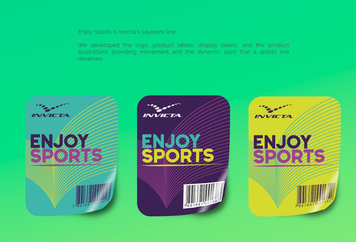 Etiquetas Enjoy Sports