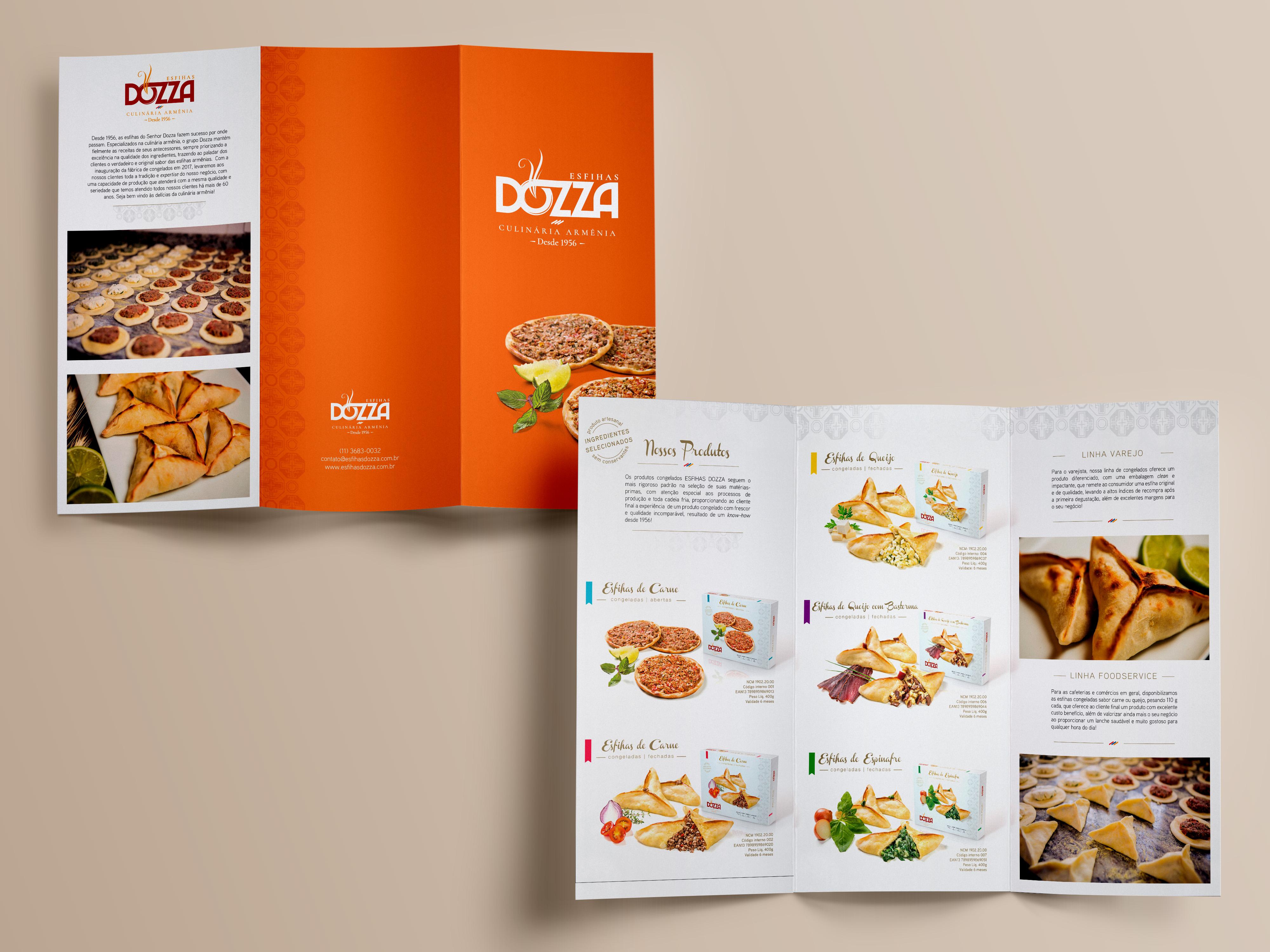 Catálogo Esfihar Dozza Culinária Armênia