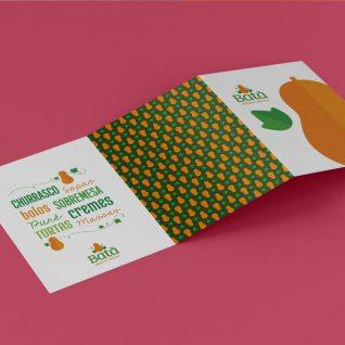 Criação de folder para o agronegócio