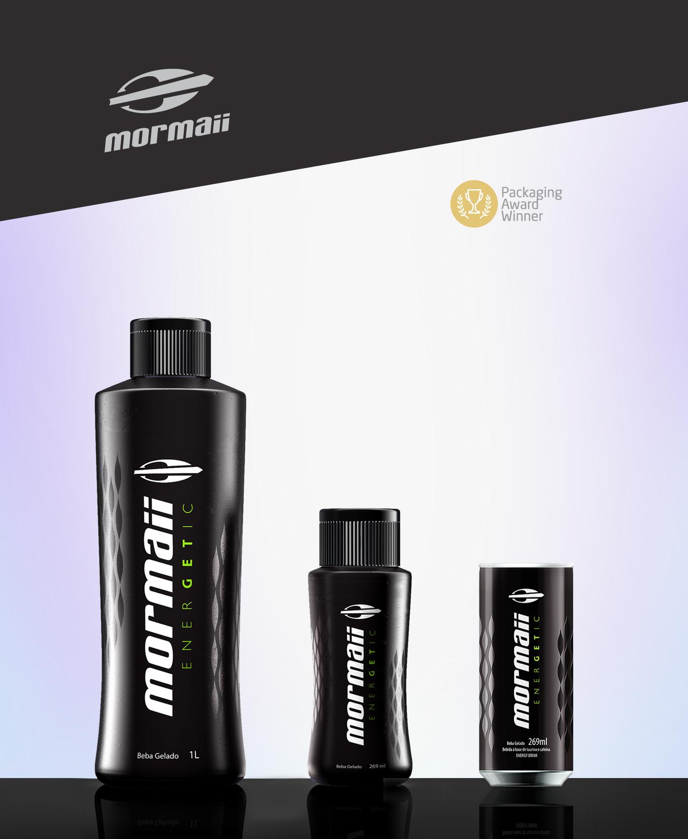 design garrafa energetico Mormaii
