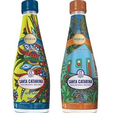 Água Mineral Premium SANTA CATARINA