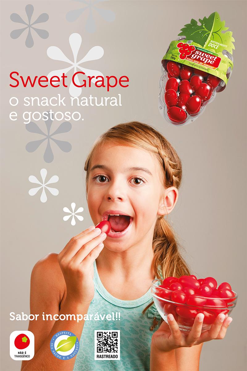 O3 Design - Design de Bandeja para tomates SWEET GRAPE