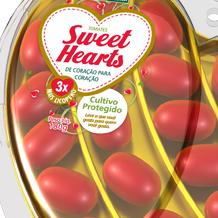 Branding e design de embalagem Tomate Sweet Hearts SAKATA NUTRITION