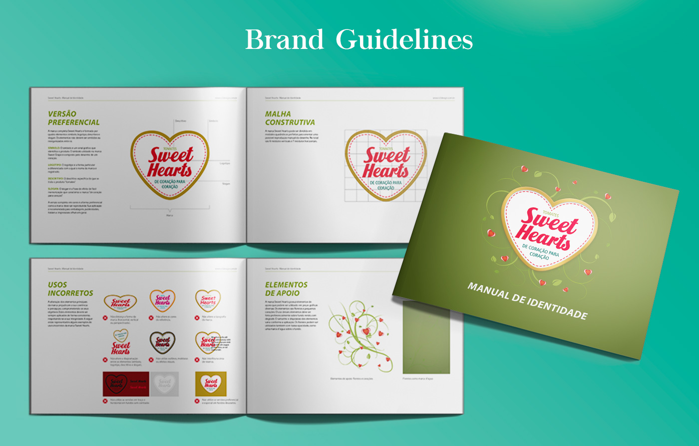 Brand Guideline design