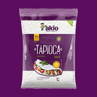 packaging design for tapioca and garlic
