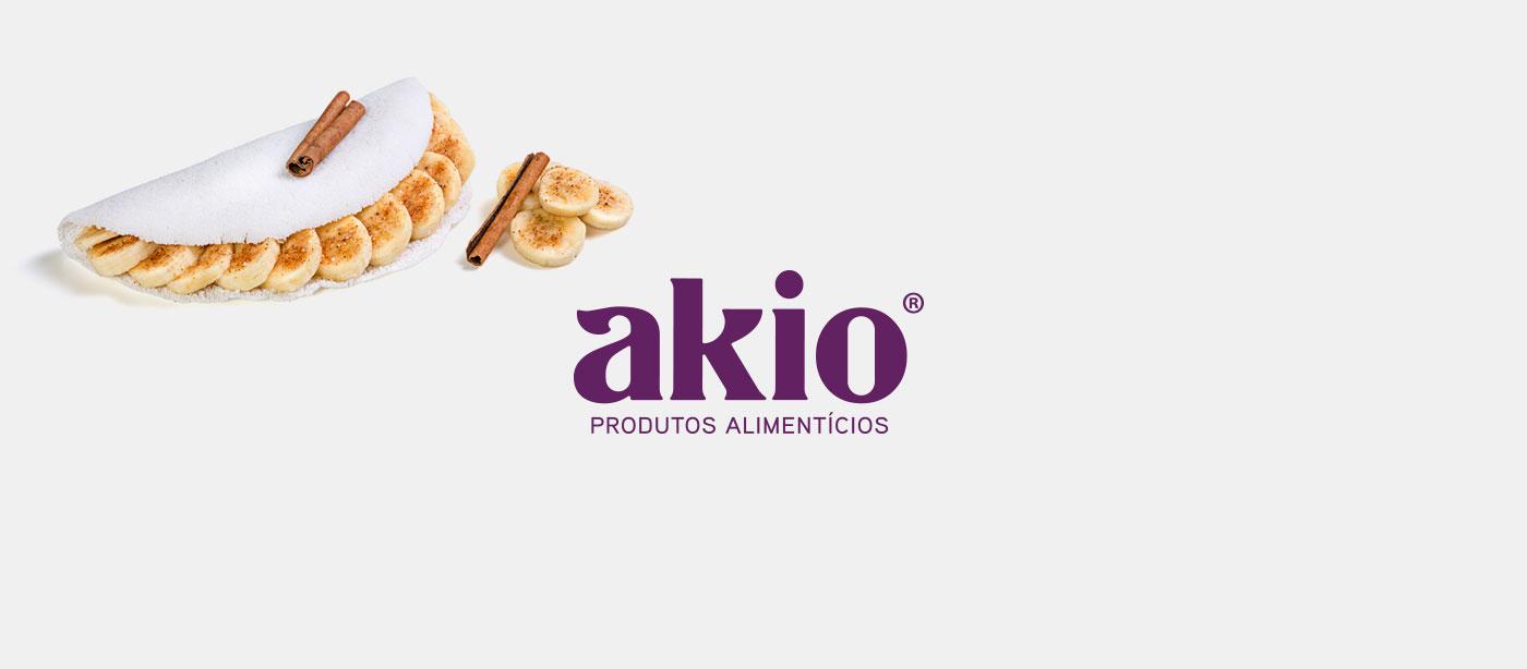 design logotipo tapioca akio