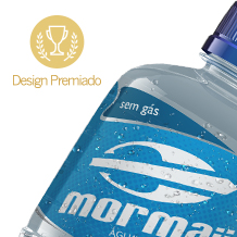 MORMAII MINERAL WATER bottles and labels