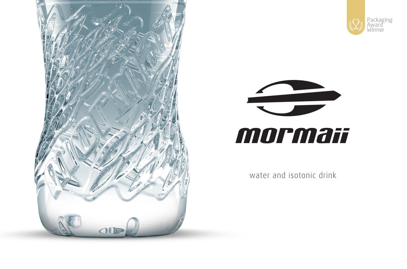 logotipo Mormaii garrafa agua mineral