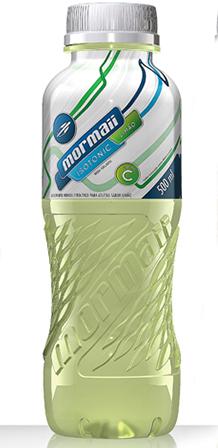 Design de garrafas para ISOTÔNICOS MORMAII