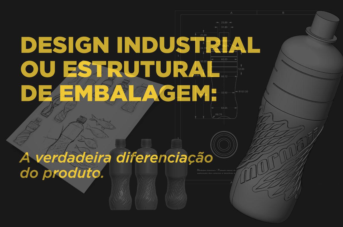 Design estrutural da embalagem. - imagem de destaque