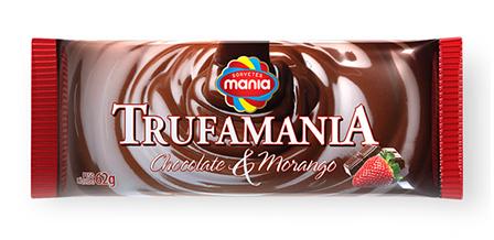 Design de embalagem Sorvetes Mania TRUFAMANIA