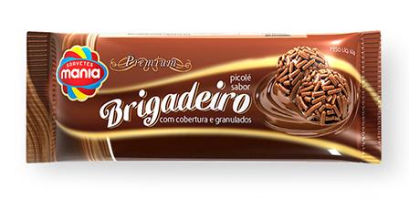 Design de embalagem Picolés premium BRIGADEIRO e NAPOLITANO