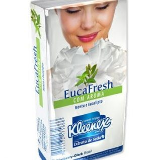 Embalagem KLEENEX EUCAFRESH