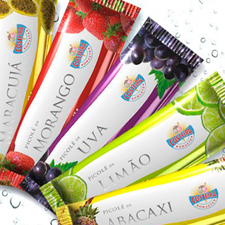 Popsicles packaging design