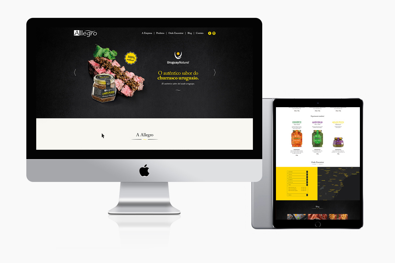 Design de site para chimichurri
