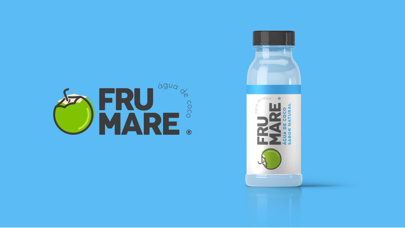 Logotipo Frumare água de coco