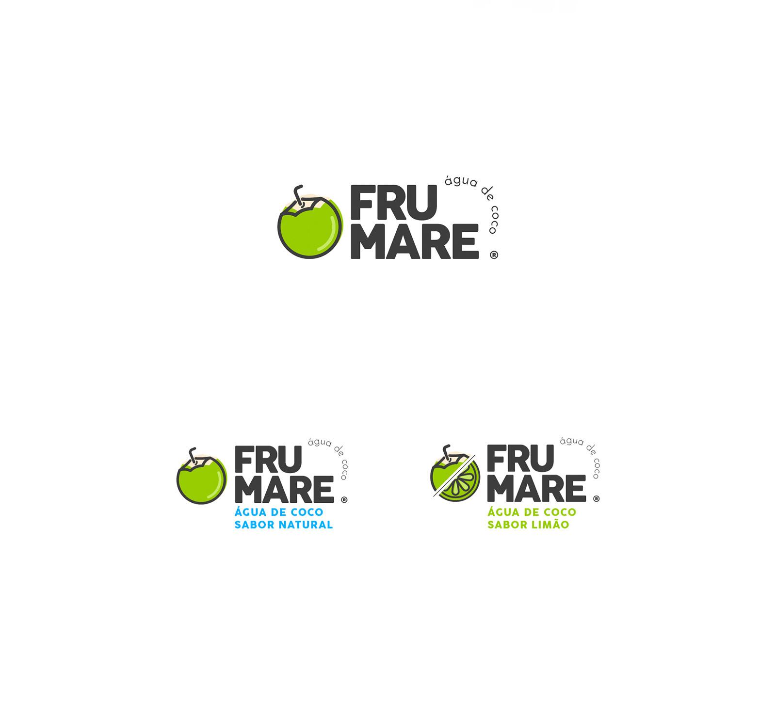logotipos Frumare água de coco